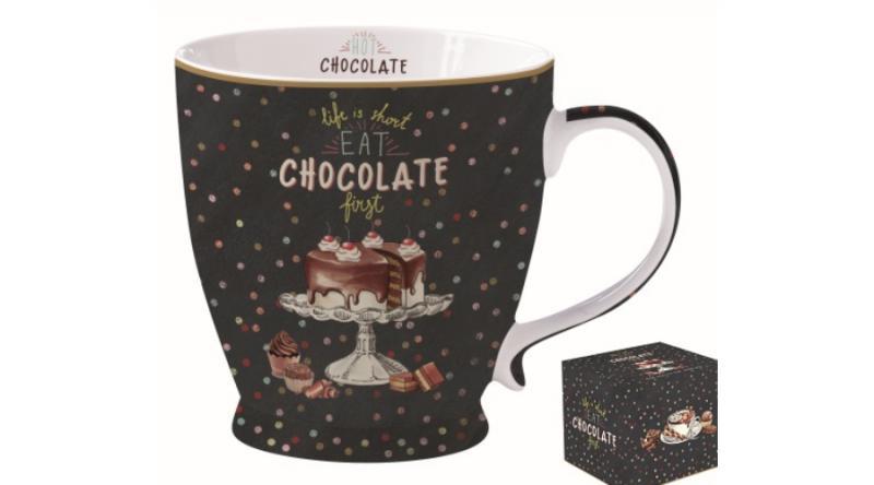R2S Chocolate porcelán csésze, 40 cl, R2S.1463HOCH, 153425