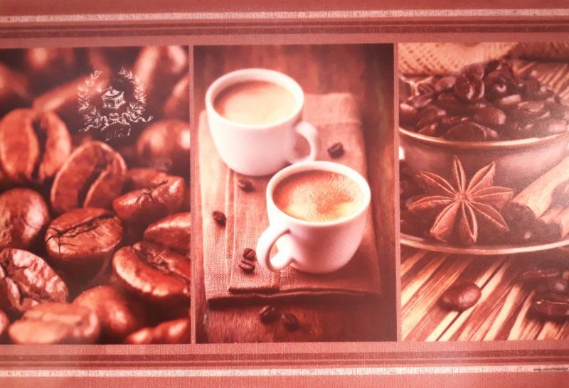 R2S műanyag reggeliző alátét, Kitchen Coffee, 45X30 cm, ART R0550KTHC
