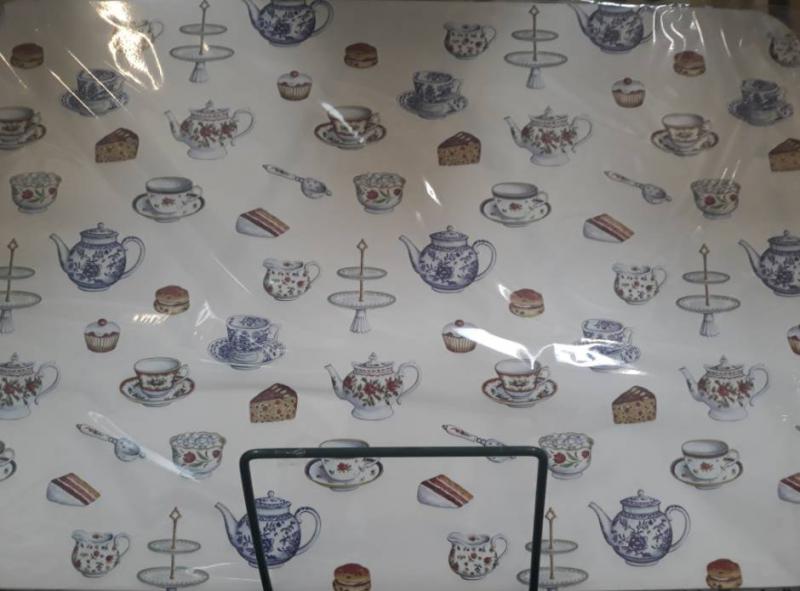 R2S műanyag reggeliző alátét, Teatime, 45X30 cm, ART R0350TIME