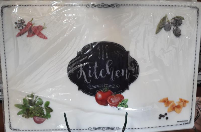 R2S reggeliző alátét Kitchen Basic Kitchen, 45X30 cm, 153011kitchen