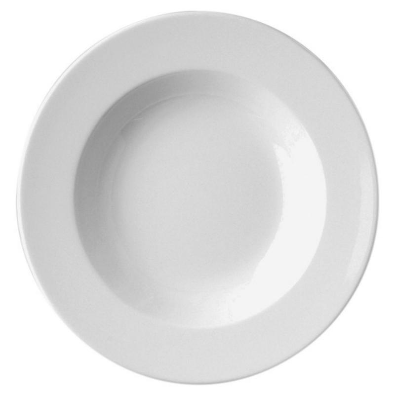 RAK Banquet porcelán mélytányér, 26 cm, BADP26, 429009