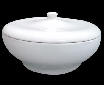 RAK BUFFET porcelán leveses tál fedővel 27 cm, 3,45 liter  BUCD27