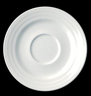 RAK Rondo porcelán csészealj, 13 cm, 429110