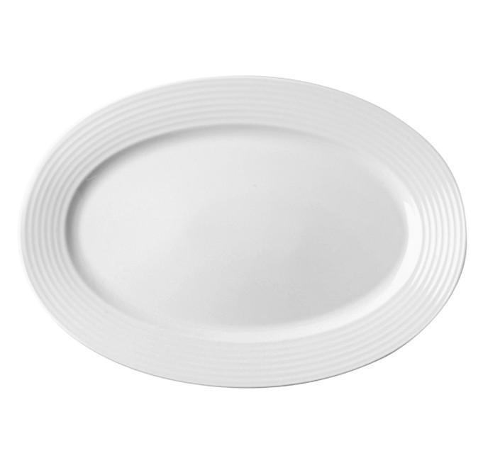 RAK Rondo porcelán ovál tál, 32 cm, 429077