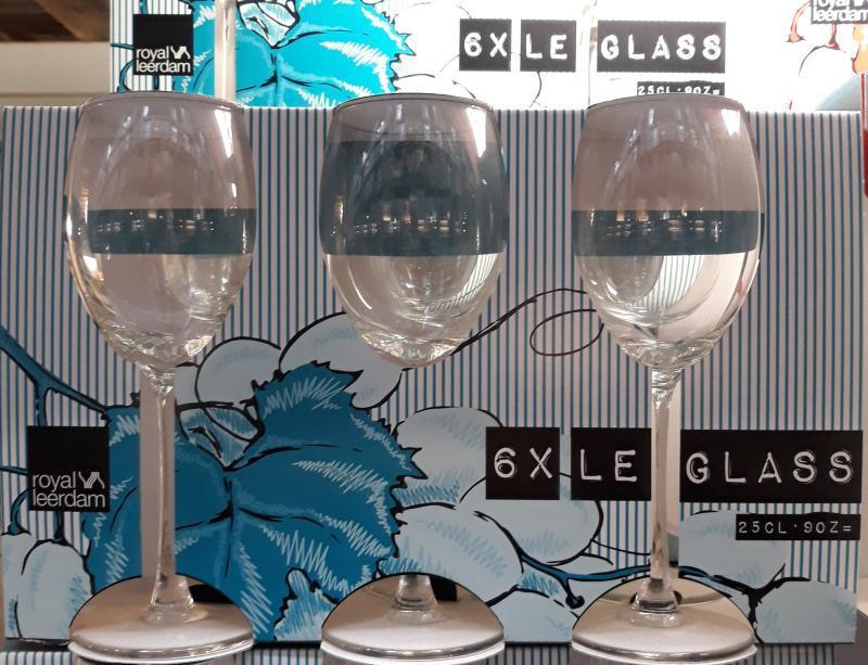Royal Leerdam Le glass boros pohár 25cl készlet, 6db, 254025