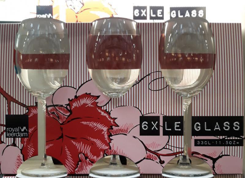 Royal Leerdam Le glass boros pohár 33cl készlet, 6db, 254024