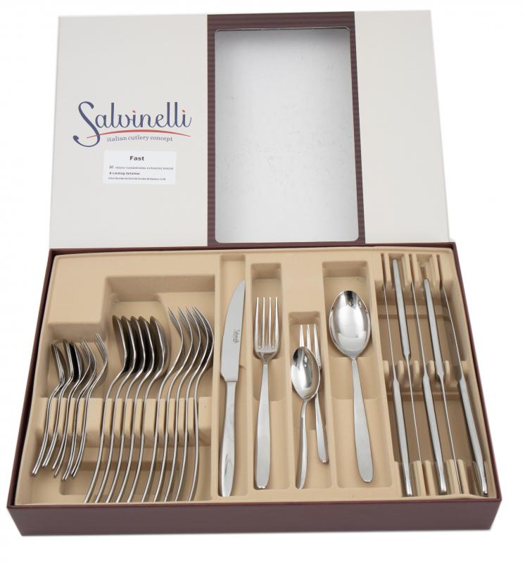 Salvinelli FAST evőeszköz készlet 30 részes