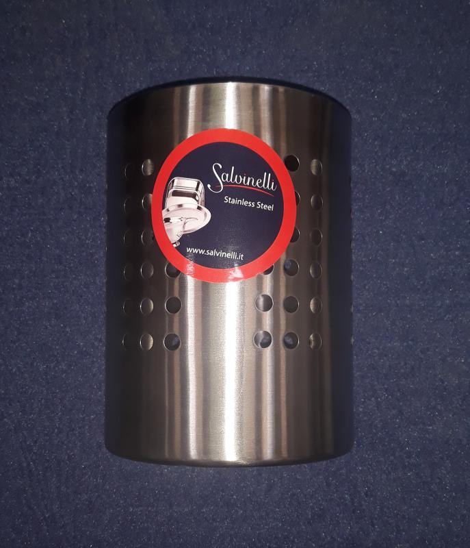 Salvinelli rozsdamentes evőeszköztartó, 15,5 cm, 430463