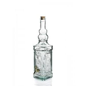 San Miguel zöld üveg csappal, 47 cm, 297085