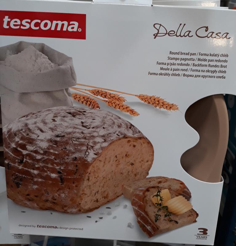 Tescoma Bella Casa szilikonos kenyérsütőforma, kerek (átm.: 22 cm), 629550