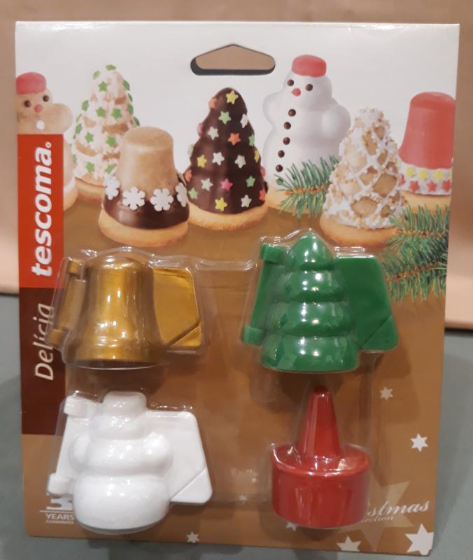 TESCOMA Delícia, Karácsonyi formák, 4 db, 631646