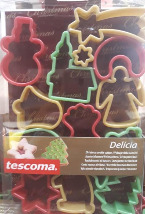 TESCOMA Delícia karácsonyi kiszúró formák, 13 db-os, 630902