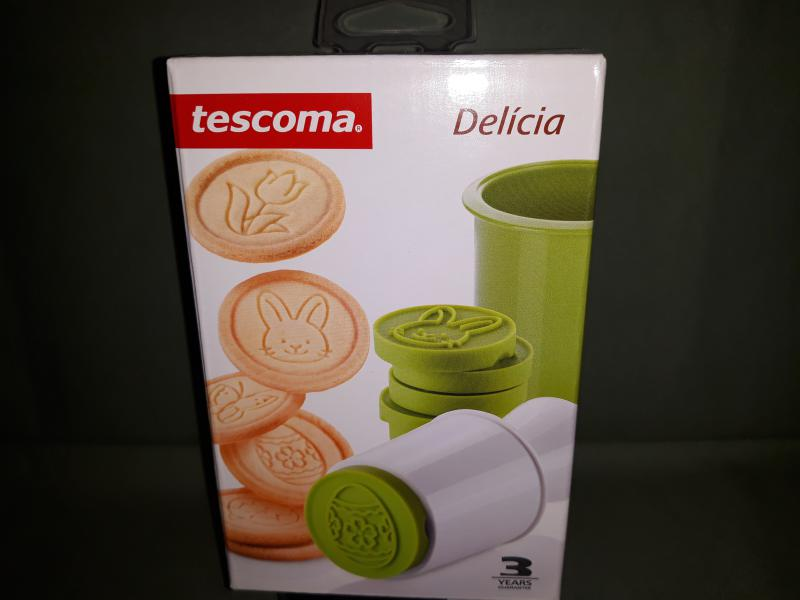 Tescoma Delícia keksznyomó, húsvéti minták, 6 db, 630116