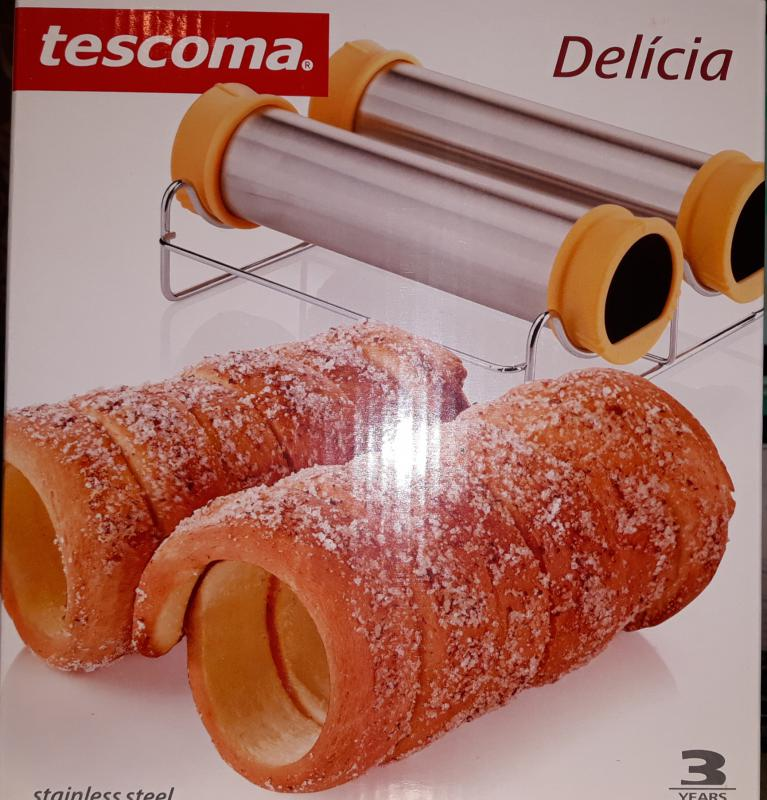Tescoma Delícia kürtöskalács készítő szett, 139539