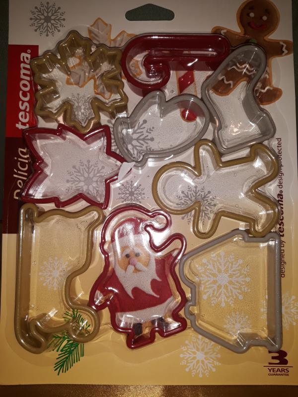 Tescoma Delícia műa.karácsonyi kiszúrók, 9 db, 630901