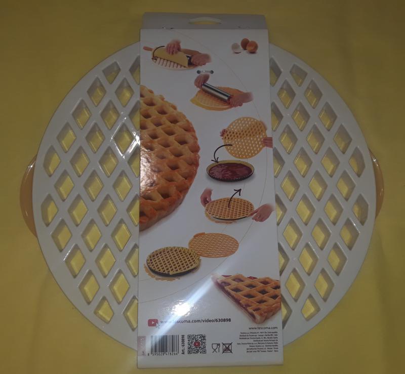 Tescoma Delícia műanyag kerek tésztakiszúró rács, 30 cm, 630898