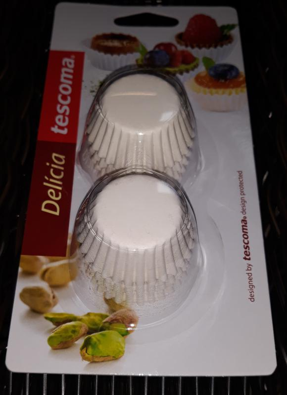 Tescoma Delícia muffin mini sütőpapír, fehér, 200 db, 4X2,5X1,5 cm, 630620