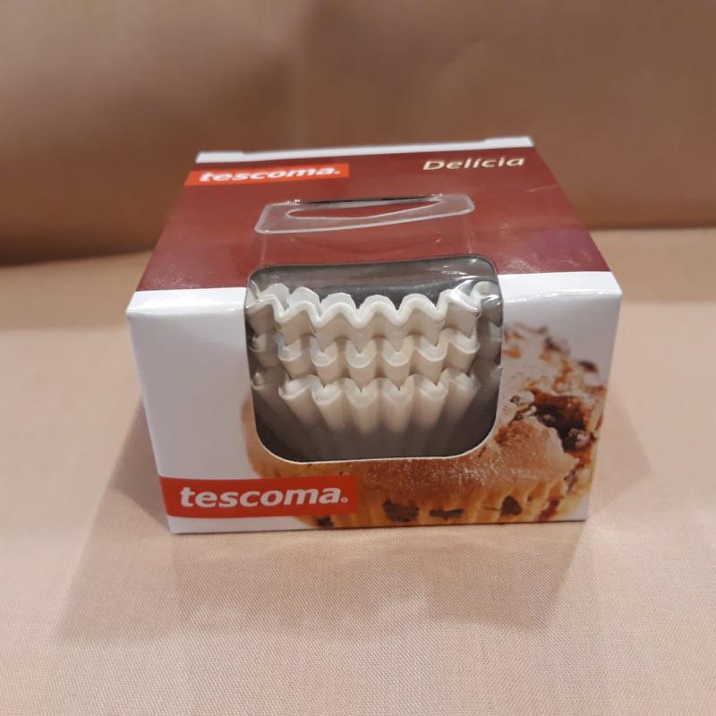 Tescoma Delícia muffin sütőpapír, fehér, 100 db, 6,5X2,5 cm, 630630