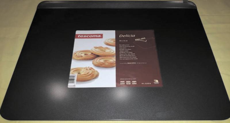 Tescoma DELICIA sütő tepsi, lapos, szél nélkül, 40x36 cm, 623016