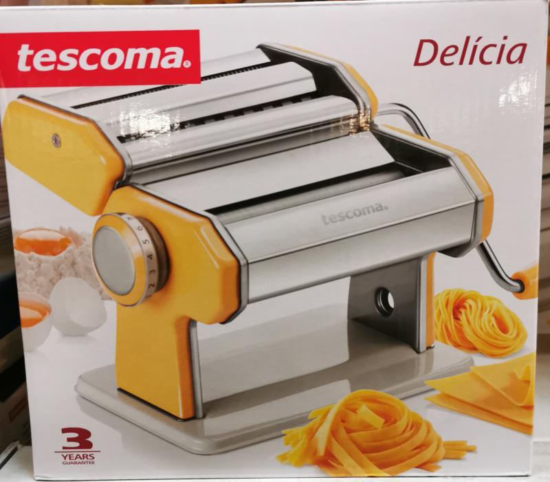 Tescoma Delícia tésztagép+2 db betét (szélesmetélt, spagetti), 630872