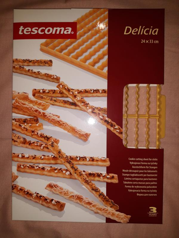 Tescoma Delícia tésztakiszúró rács, rúd, 26db, (sajtosrúd) 630895