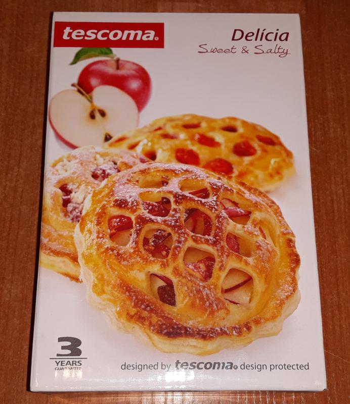 Tescoma Delícia töltött süti formázó+3 db rácsos minta, 630881