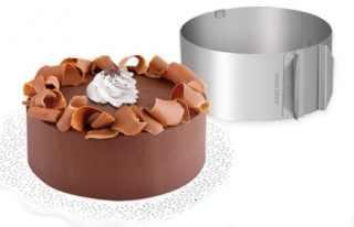 TESCOMA DELICIA torta keret, kerek, állítható, 16-30 cm, 139399