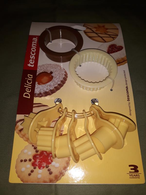 Tescoma Delícia Traditional műanyag linzerkiszúró, 2+6 db, 630910