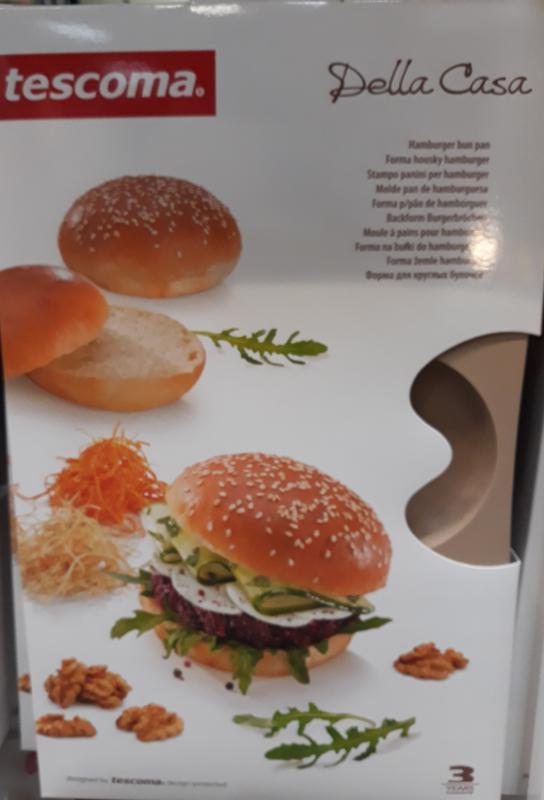Tescoma Della Casa hamburgerzsemle sütőforma, 6 lyukú, 629518