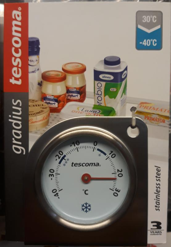 TESCOMA GRADIUS hűtő hőfokmérő óra, 636156