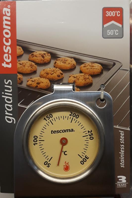TESCOMA GRADIUS sütő hőfokmérő óra, (+50/+300°C), 636154