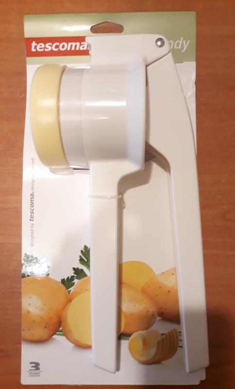 Tescoma Handy krumplinyomó-burgonyatörő 2 betéttel, műanyag, 939026
