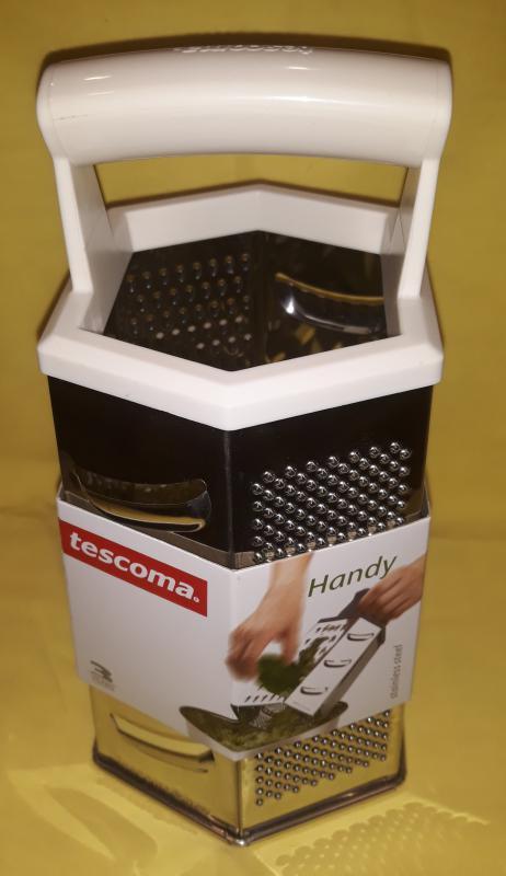 TESCOMA Handy reszelő, hatszögletű, fogóval, 139024