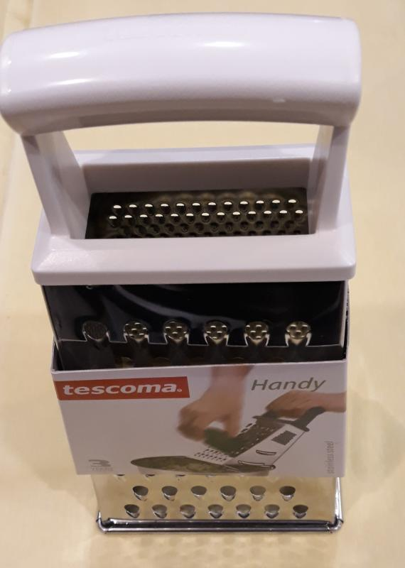 TESCOMA Handy reszelő, nagy, négyszögletes, fogóval, 139023