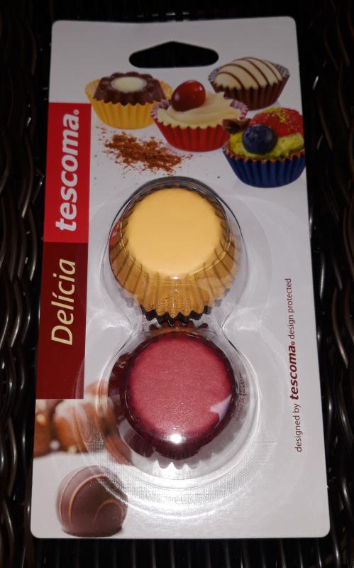 Tescoma muffin sütő papír, mini, színes, 4x2,5x1,5 cm, 200 db, 630624