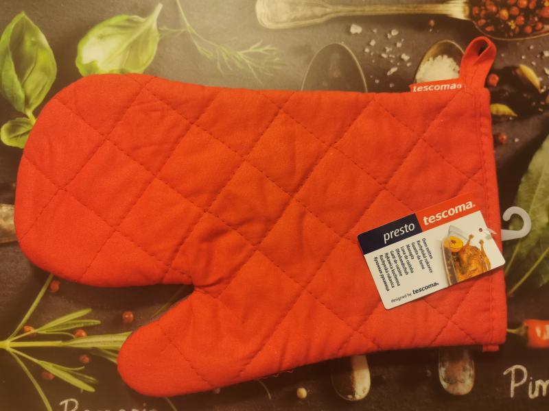 Tescoma Presto edényfogó kesztyű, piros-szürke, 639815