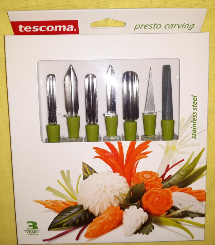 Tescoma Presto gyümölcs-és zöldségfaragó készlet, 422010