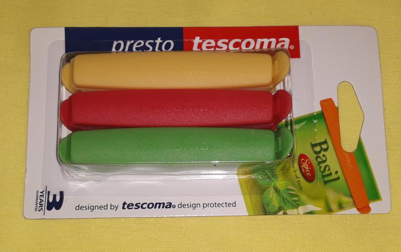 TESCOMA PRESTO tasaklezáró, 9 cm, 6 db, 420752,