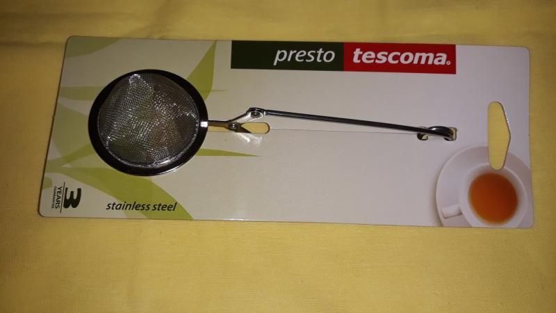 Tescoma Presto teakanál, kerek, szitás, 5 cm, 420676