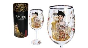 H.C.841-3505 Talpas üvegpohár 640ml,Klimt:Adele, 1db