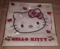 Hello Kitty Cherry szalvéta, 33X33 cm, 2 rétegű, 20 db