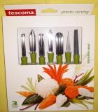 Tescoma Presto Carving gyümölcs-és zöldségfaragó készlet, 422010