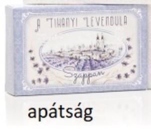 T.L.M.Szappan nagy, levendulás,Tihanyi apátság 125g