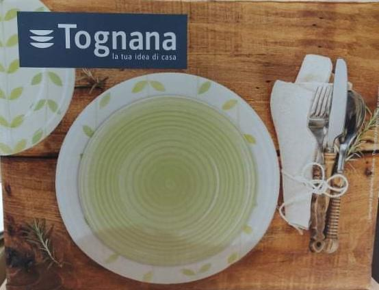 Tognana Botanic 18 részes kerámia étkészlet