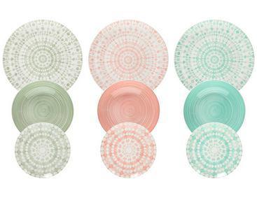 Tognana Gipsy Soft 18 részes porcelán étkészlet