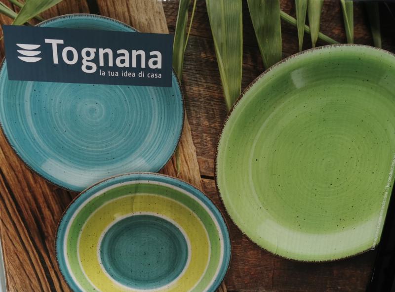 Tognana Riga Verde Louise 18 részes kerámia étkészlet