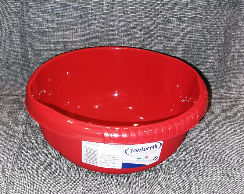 Tontarelli Aurora műanyag tál, 20 cm, 1,7 liter, 122070