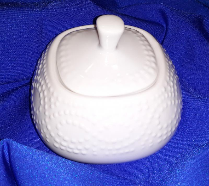 T.P.CR031300000 Porcelán cukortartó 300 ml,Cleopatra Bianco,Andrea Fontebasso1760