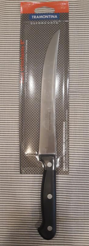 Tramontina Ultracorte szeletelő kés, sima, 20 cm bliszt., 414102