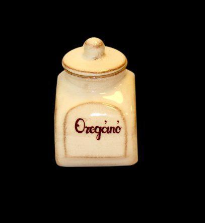 Vanilia Kerámia 01-01, Kis fűszertartó antikolt,kerámia, 11,5cm, 0,3l, V.K.01-01